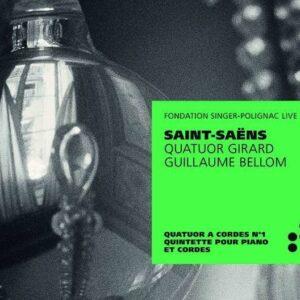 Saint-Saens: String Quartet No.1, Piano Quintet - Quatuor Girard