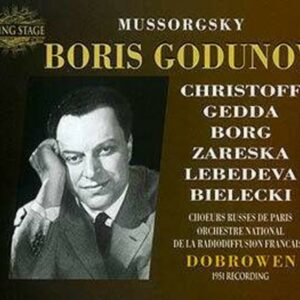Modest Mussorgsky: Mussorgsky: Boris Godunov