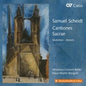 Scheidt: Cantiones Sacrae - Athesinus Consort Berlin