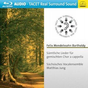 Mendelssohn : Intégrale des lieder pour chœur mixte a cappela. Jung.