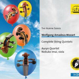 Mozart : Intégrale des quintettes à cordes. Imai, Quatuor Auryn.