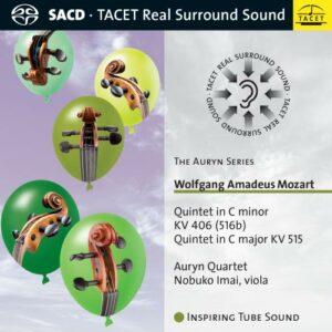 Mozart : Quintettes à cordes, vol. 1. Imai, Quatuor Auryn.