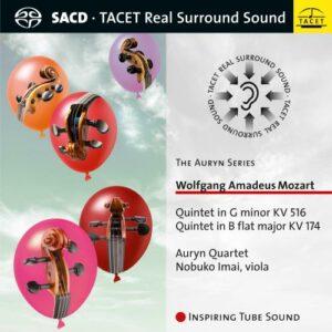 Mozart : Quintettes à cordes, vol. 2. Imai, Quatuor Auryn.