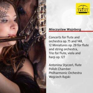 Mieczyslaw Weinberg : Œuvres pour flûte. Styczen, Rajski.