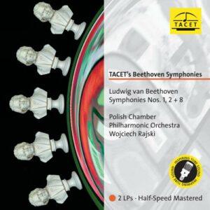 Beethoven : Symphonie n° 1, 2 et 8. Rajski. [Vinyle]