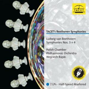 Beethoven : Symphonies n° 3 et 4. Rajski. [Vinyle]