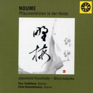 Noume. lieder japonais. Yoshihara, Romankiewicz.