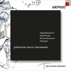 Johannes Boris Borowski : Portrait du compositeur. Gallois, Boffard, Mantovani, Voyles.