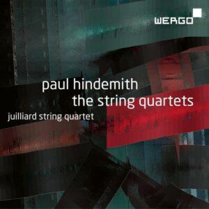 Paul Hindemith : Les quatuors à cordes. Quatuor Juilliard.