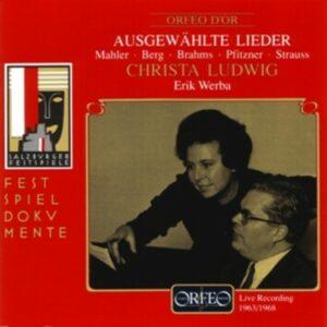 Brahms; Mahler; Strauss; Pfitzner: Christa Ludwig Liederabend - Christa Ludwig, Erik Werba