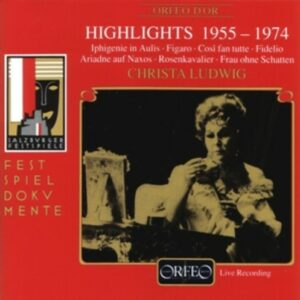Mozart, Gluck, Beethoven Strauss: Christa Ludwig Highlights - Christa Ludwig, Schoffler