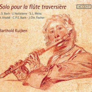 Solo Pour La Flute Traversiere - Barthold Kuijken
