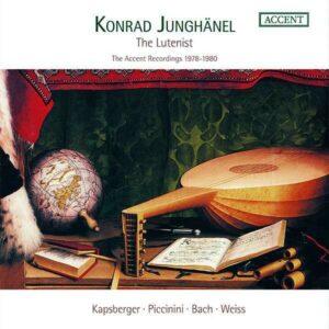 The Lutenist (Accent Recordings 1978-1980) - Konrad Junghanel