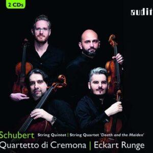 Schubert: String Quintet, String Quartet D14 - Quartetto Di Cremona