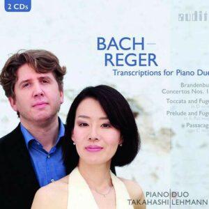 Bach / Reger: Transcriptions for Piano - PianoDuo Takahashi Lehmann