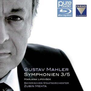 Gustav Mahler: Symphonien 3 & 5 - Zubin Mehta