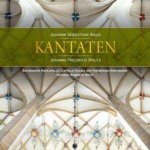 Bach / Doles: Kantaten - Batzdorfer Hofkapelle