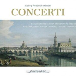 Handel: Concerti - Barockorchester Der Kreuzkirche Dresden
