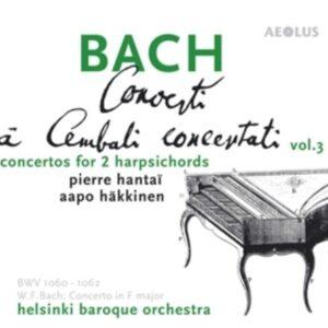 Bach: Concerti A Cembali Concertati Vol.3 - Pierre Hantai