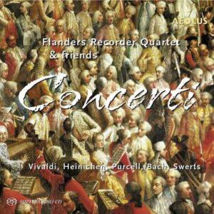 Heinichen: Concerti Fur 4 Blockfloten - Flanders Recorder Quartet