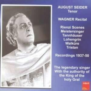 Wagner: August Seider In Wagner Sze