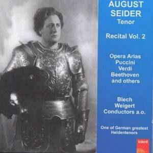August Seider Sings Opernarien