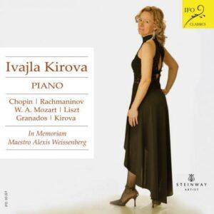 Chopin, Rachmaninov, Mozart, Liszt… : Œuvres pour piano. Kirova.