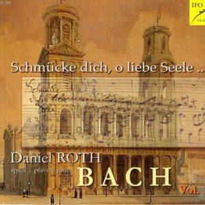 Daniel Roth joue Bach, vol. 2 : Œuvres pour orgue.