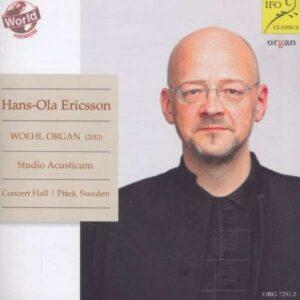 Bach, Franck, Moussorgski : Œuvres pour orgue. Ericsson.