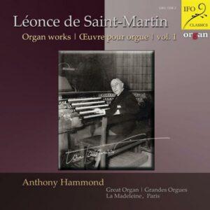 Léonce de Saint-Martin : Œuvres pour orgue, vol. 1. Hammond.