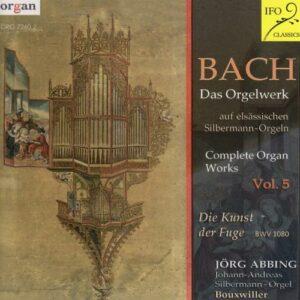 Bach : L'œuvre pour orgue, vol. 5. Abbing.