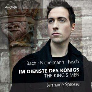 C.P.E. Bach, Fasch, Nichelmann : Im dienste des König, œuvres pour clavier. Sprosse.