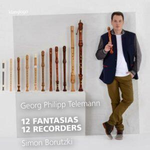 Telemann : 12 Fantaisies pour flûte à bec. Borutzki.