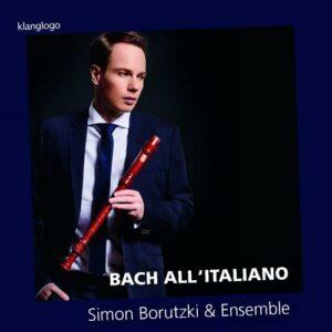 Bach all' italiano : Transcriptions pour flûte à bec et BC de concertos italiens. Borutzki.
