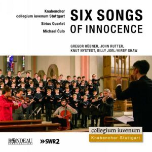 Six songs of innocence : Œuvres chorales. Culo.