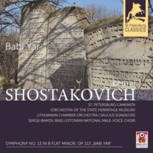 Shostakovich: Symphony No. 13 In B Flat Minor Op. 113 'Babi Yar' - Sondeckis