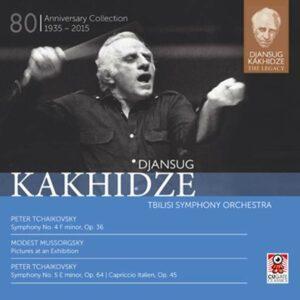 Mussorgsky / Tchaikovsky: Djansug Kakhidze The Legacy Vol. 2