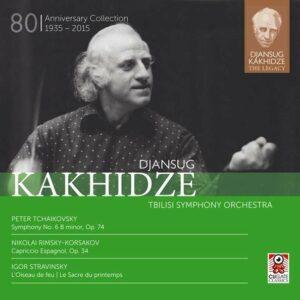 Stravinsky / Rimsky-Korsakov / Tchaikovsky: Djansug Kakhidze The Legacy Vol. 3
