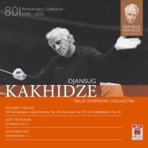 Strauss / Kancheli / Terterian: Djansug Kakhidze The Legacy Vol. 5