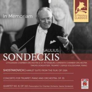 Shostakovich - Saulius Sondeckis In Memoriam