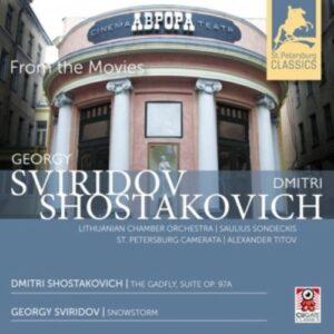 Shostakovich / Sviridov: From The Movies - Saulius Sondeckis