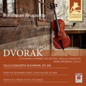 Dvorak: Cello Concerto In B Minor, Op. 104 - Saulius Sondeckis