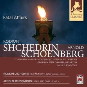 Schoenberg: Verklärte Nacht / Shchedrin: Carmen Suite - Saulius Sondeckis