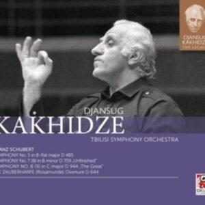 Schubert: Symphonies Nos. 5, 7 & 8 / Die Zauberharfe - Djansug Kakhidze