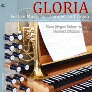 Festive Music For Trumpet And Organ - Hans Jürgen Huber