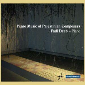 Musique pour piano de compositeurs palestiniens. Deeb.