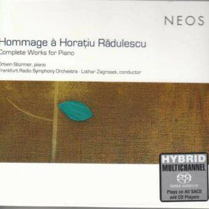 Horatiu Radulescu: Complete Works For Piano - Ortwin Stürmer