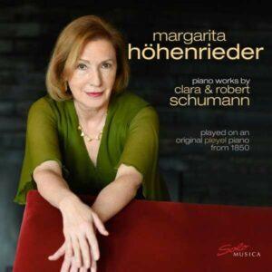 Robert / Clara Schumann: Piano Works - Margarita Hohenrieder