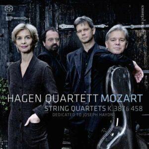 W. A. Mozart: String Quartets K. 387 & 458
