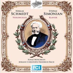 Moscheles & JCF Bach: Cello Works - Niklas Schmidt